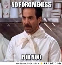 Forgive and Forgive