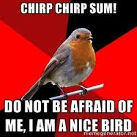 Robin/Sparrow Continuum